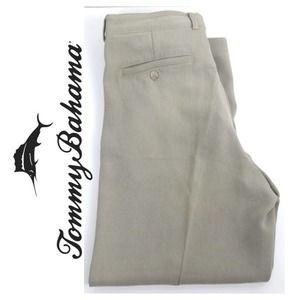 Tommy Bahama Mens Khaki Pants Beige Waist 36